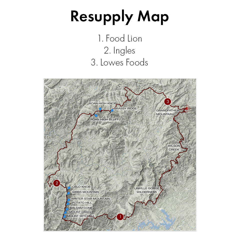 Resupply Map