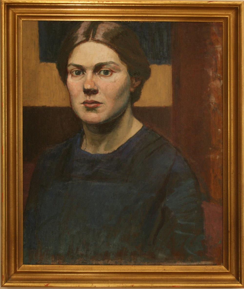 Gwen Raverat self portrait