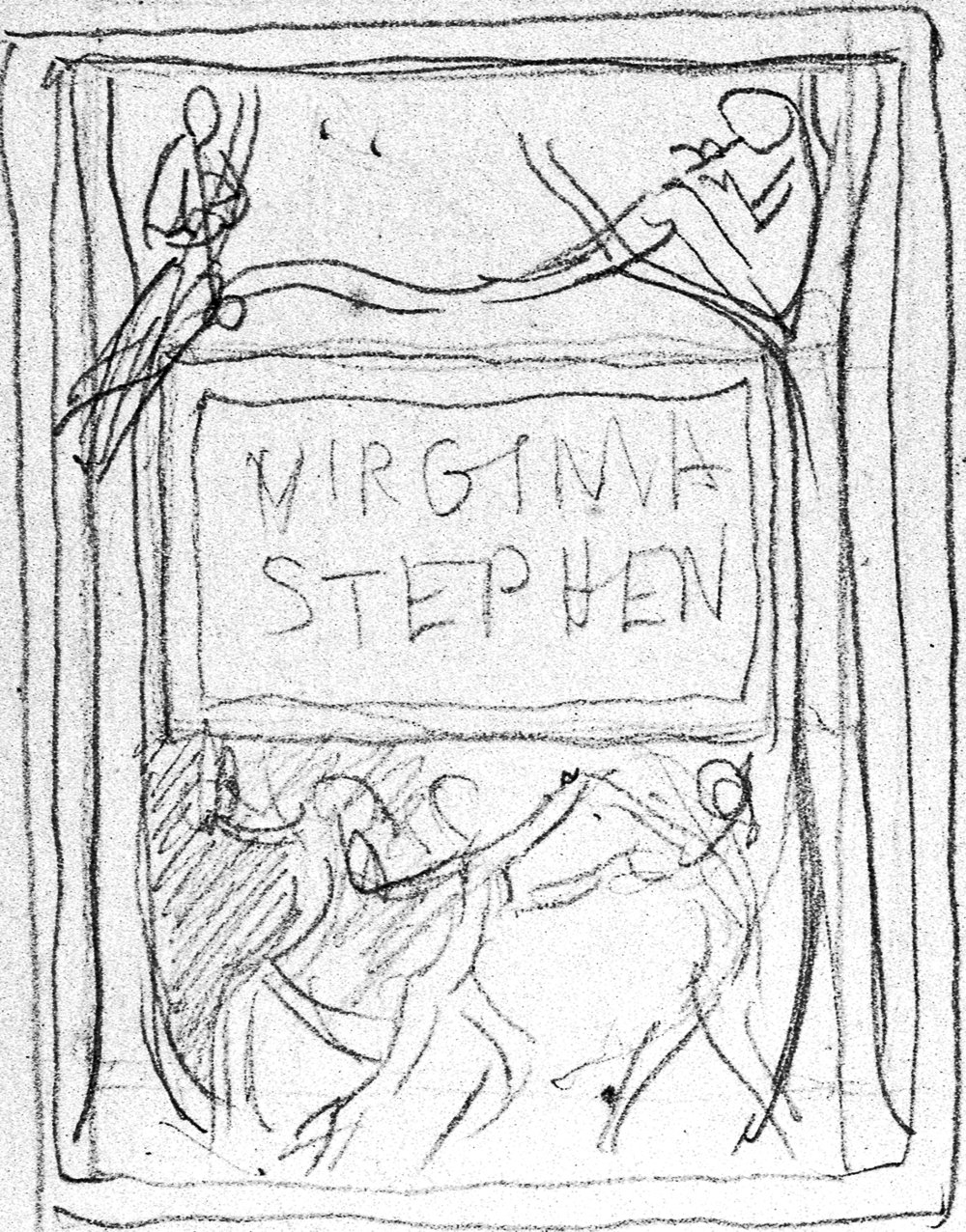 Bookplate for Virginia Stephen