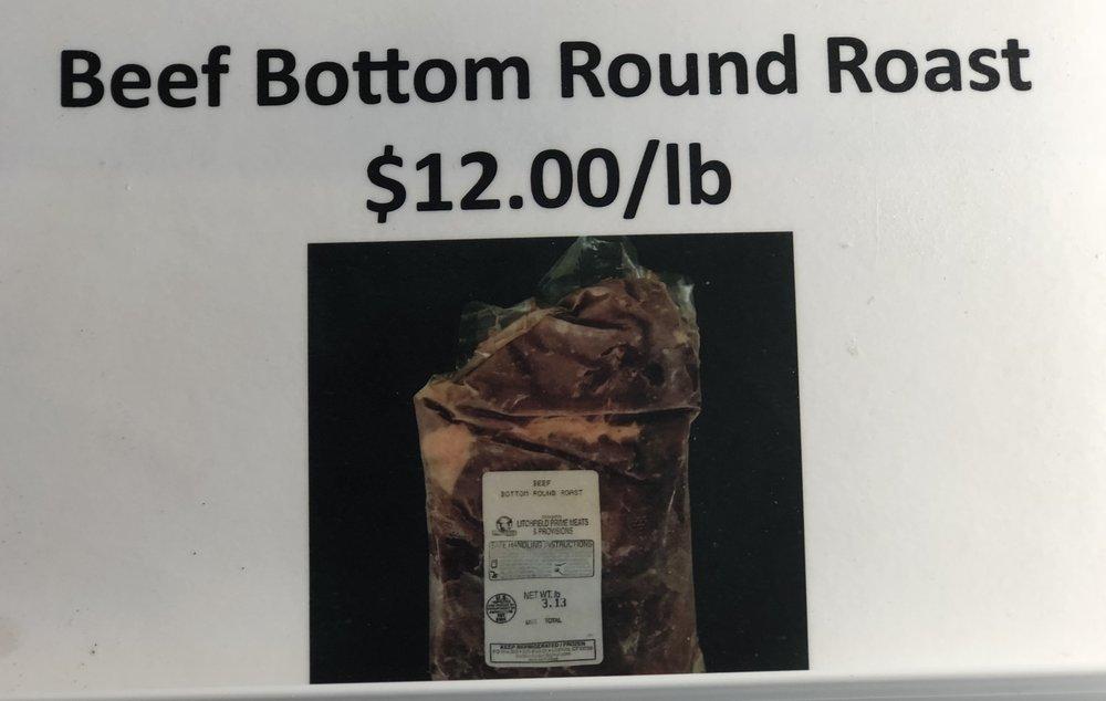 Beef Bottom Round Roast