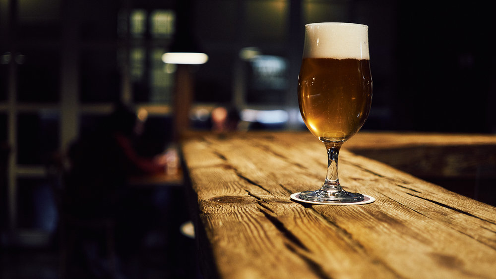 Craft beer - In the past years craft beer has grown in popularity. We have therefor chosen to keep our draught taps rotating and forever changing, every month we will have beers to suite the season and add a bit of variety to our already vast selection.