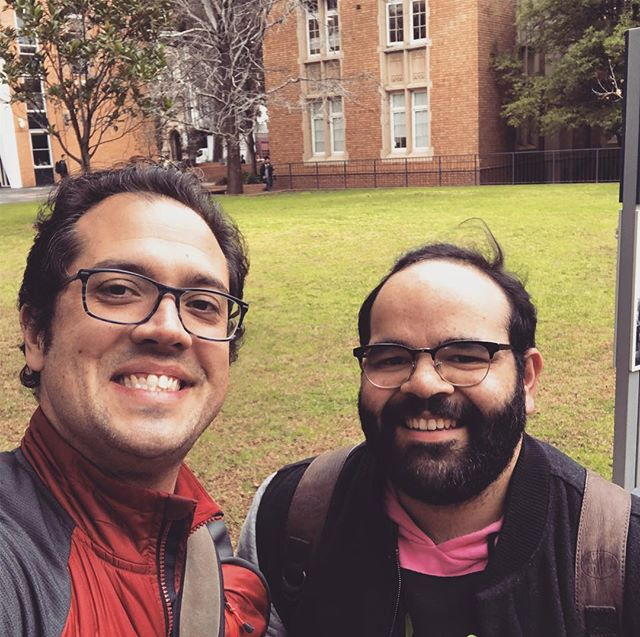 Scouting in Melbourne with our ICon Australia Director! A great week! #indigenousoutloud #puebloabroad #deadly #onepeople