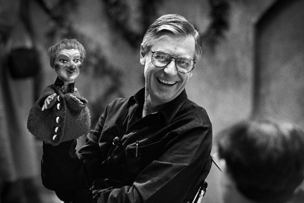 Fred Rogers and Lady Elaine Fairchilde
