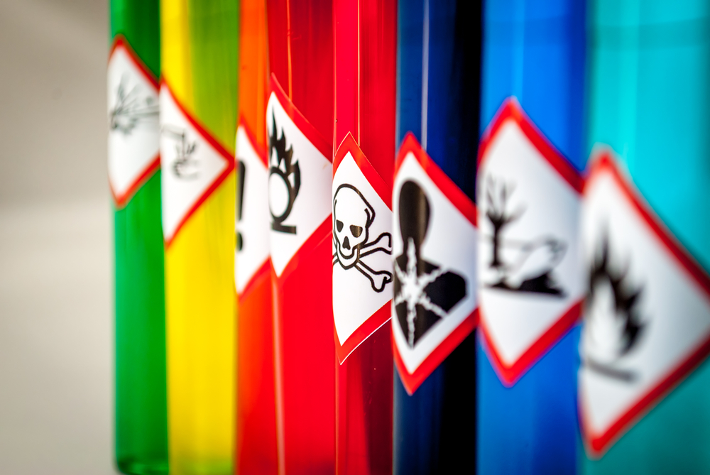 Chemical products courier services -