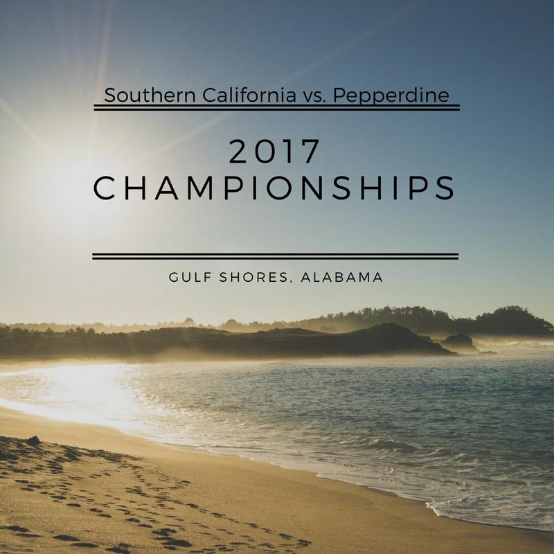 Winner : University of Southern California - Who did USC beat?1st Round :South Carolina (3-0)2nd Round : Hawaii (3-0)3rd Round : Pepperdine (3-0)4th Round : Pepperdine (3-2)