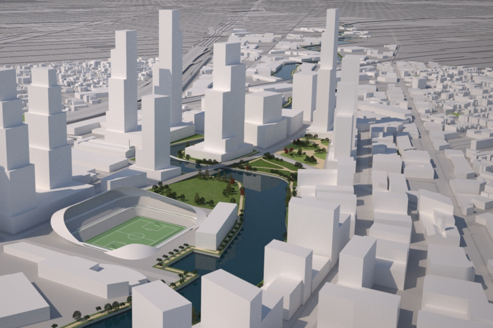 Residents don't want this: even more development along the precious river facing land at LINCOLN yards!