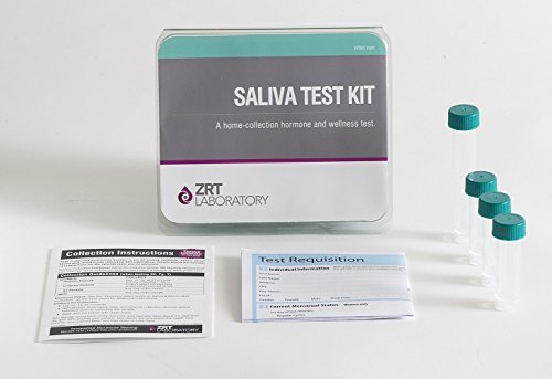 picture of ZRT Laboratory saliva based cortisol test kit.