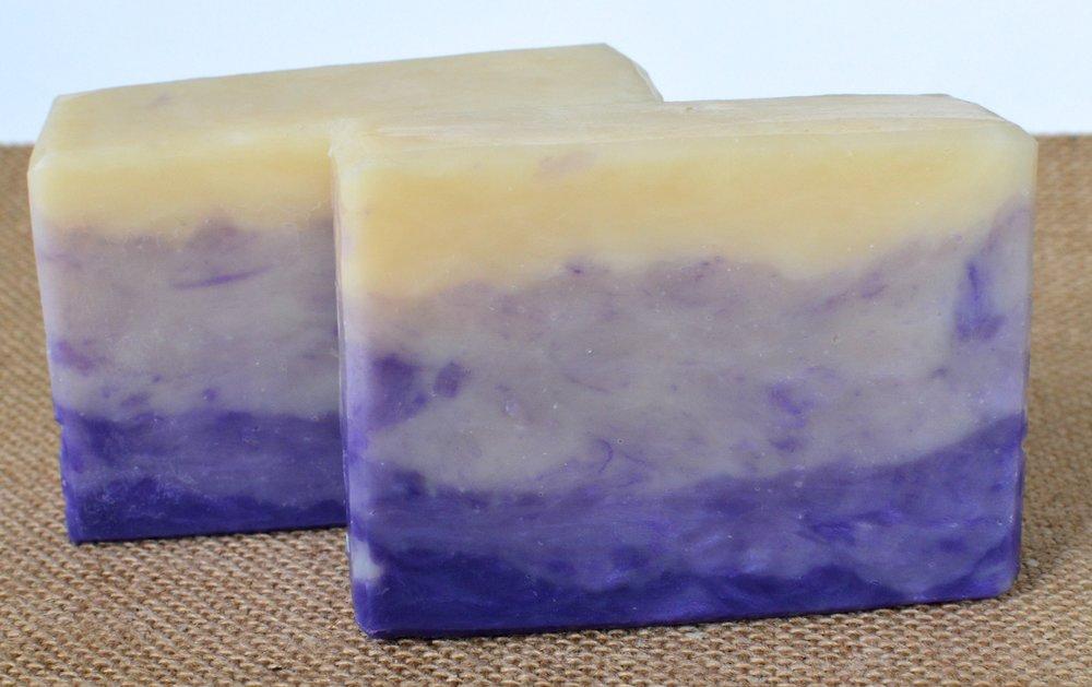 Blackberry Sage Hot Process Soap