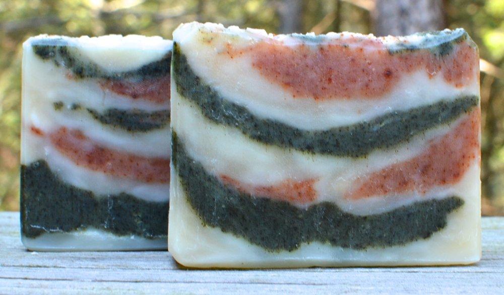Ginger Patchouli Hot Process Soap