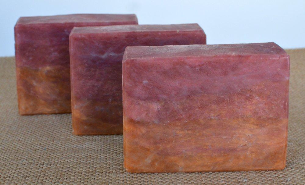 Lychee & Rooibos Tea Hot Process Soap