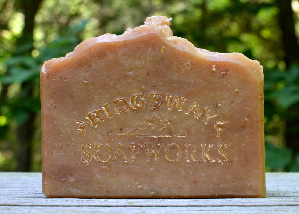 Goat Milk & Oatmeal Soap made via HP