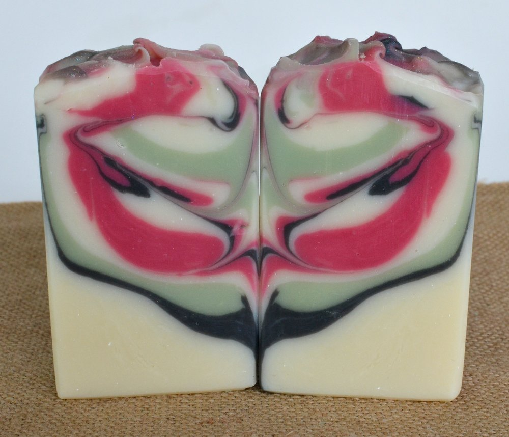 Ginger Lime soap with Black Pepper