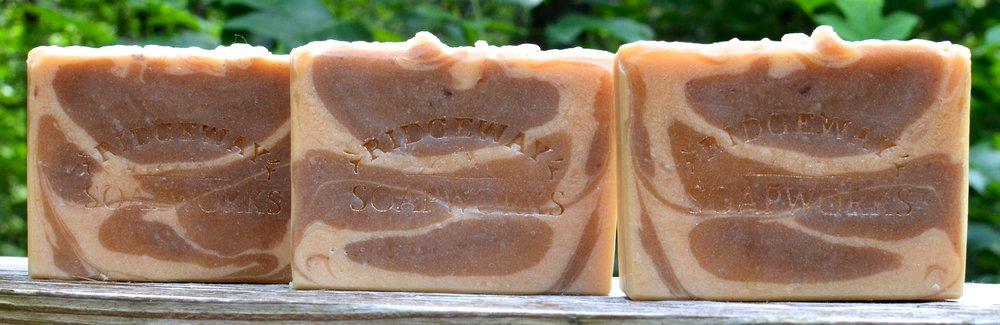 Three Clay Soap (Australian Purple Clay, French Green Clay & Kaolin Clay)