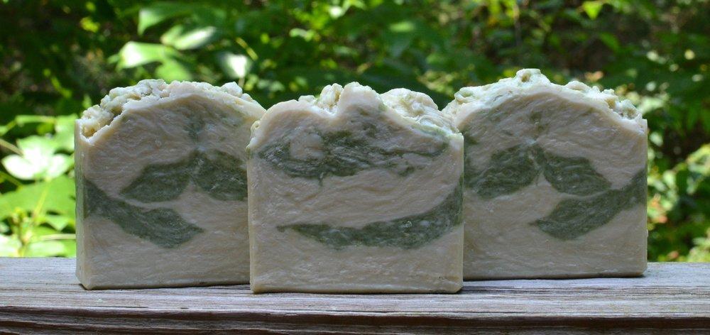 Basil, Mint & Sage Castile Soap