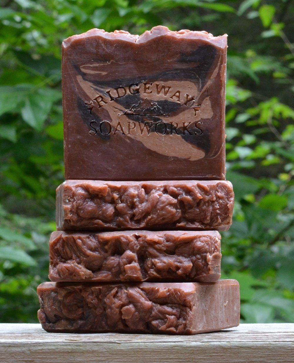 Blackberry Bordeaux Wine Soap