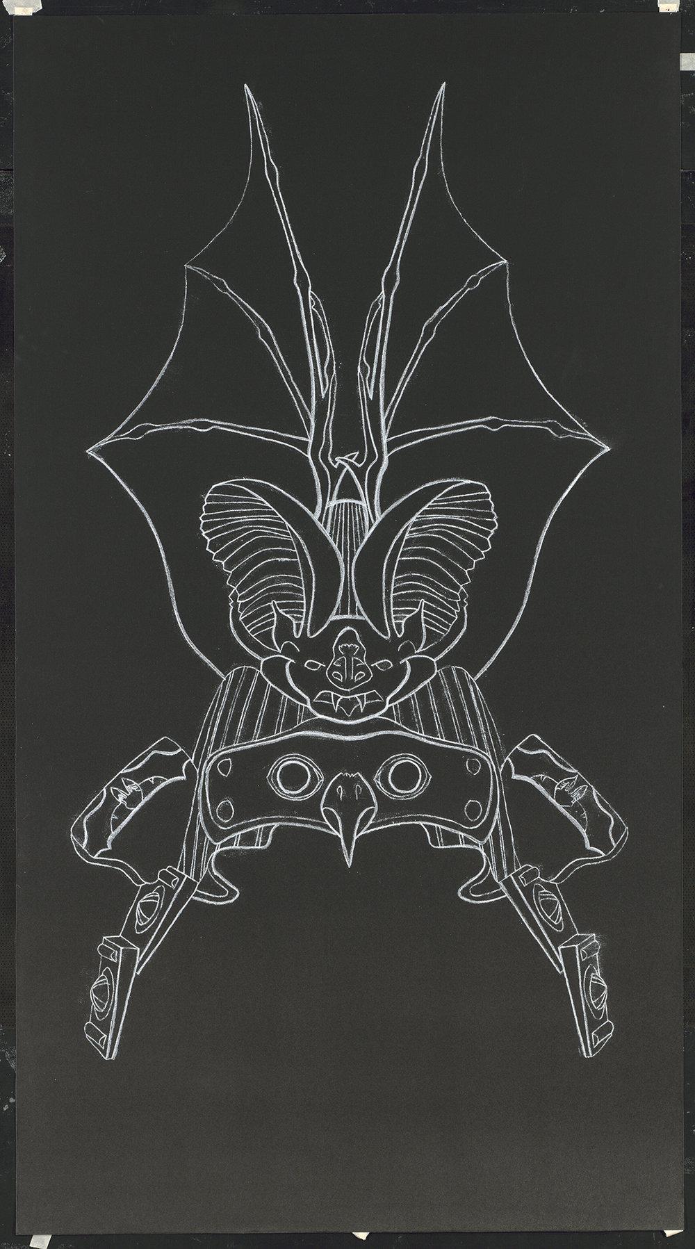 Samurai Helmet #16, 1990