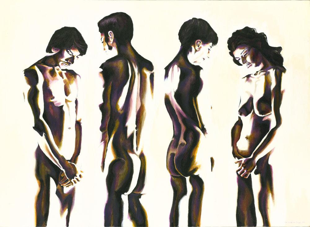 Figures: Repose Study #6, 1991