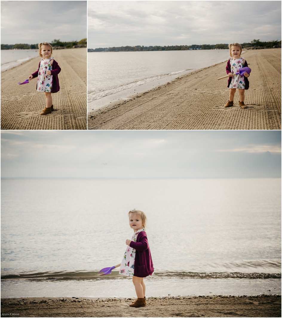 Toddler photos at the beach in Fairfield County CT