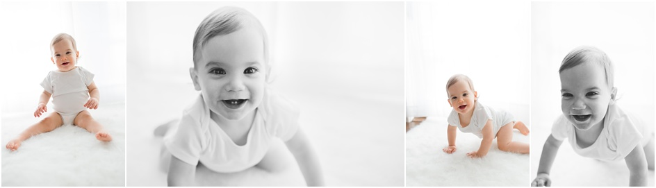 First Birthday Portraits Fairfield County Photographer