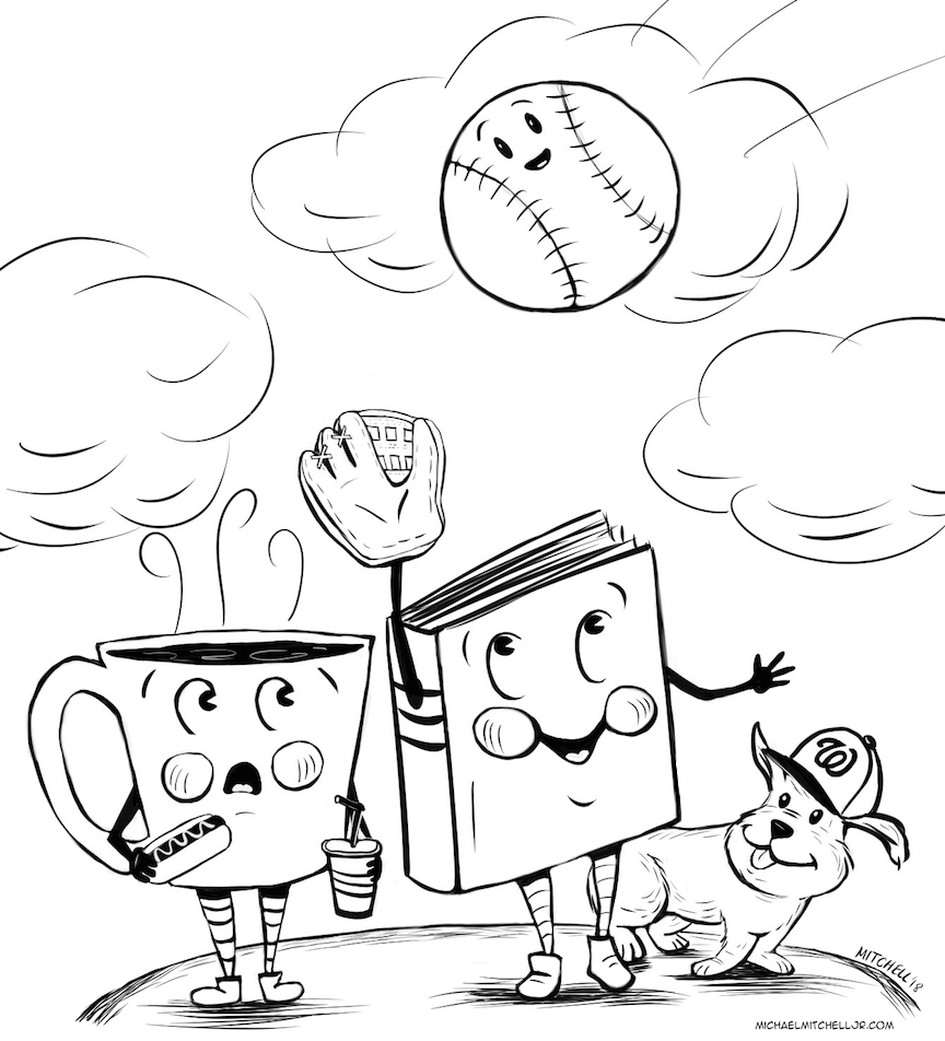 coffee book baseball game.jpg