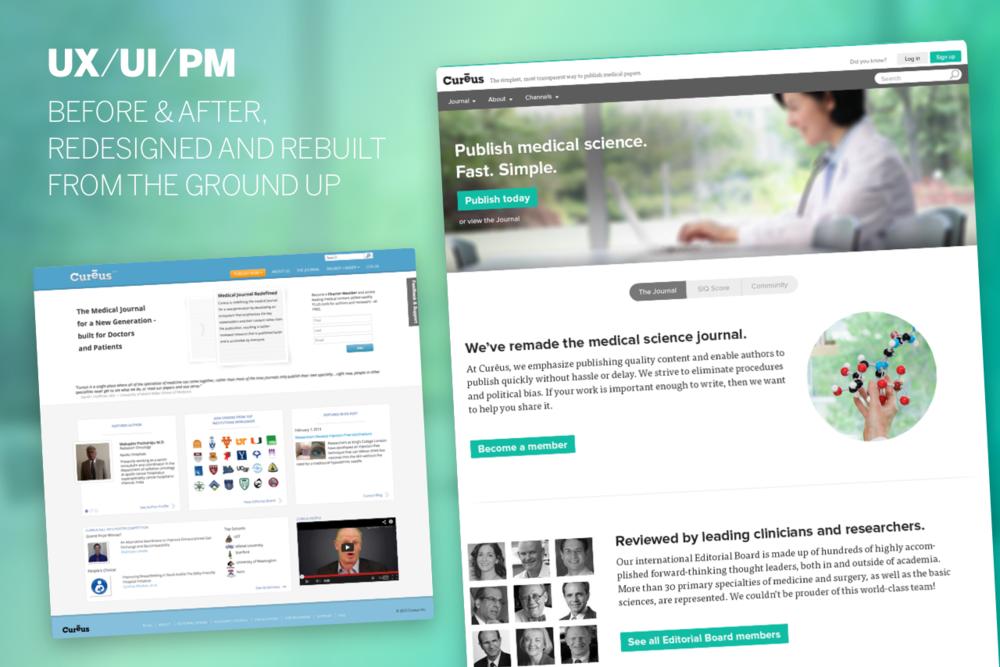 Cureus 2013 UI Homepage.png
