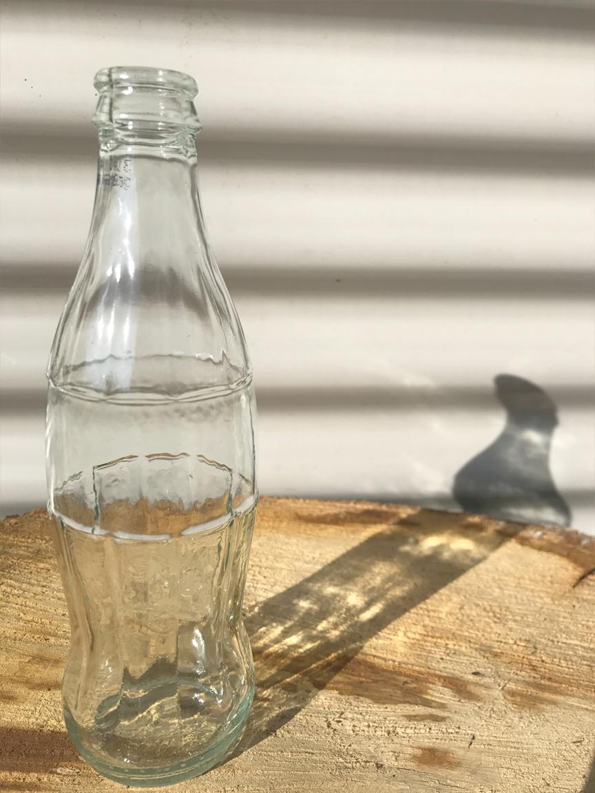 Cola bottle £0.50P