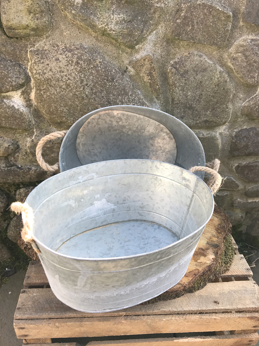 Tin baths £3.00