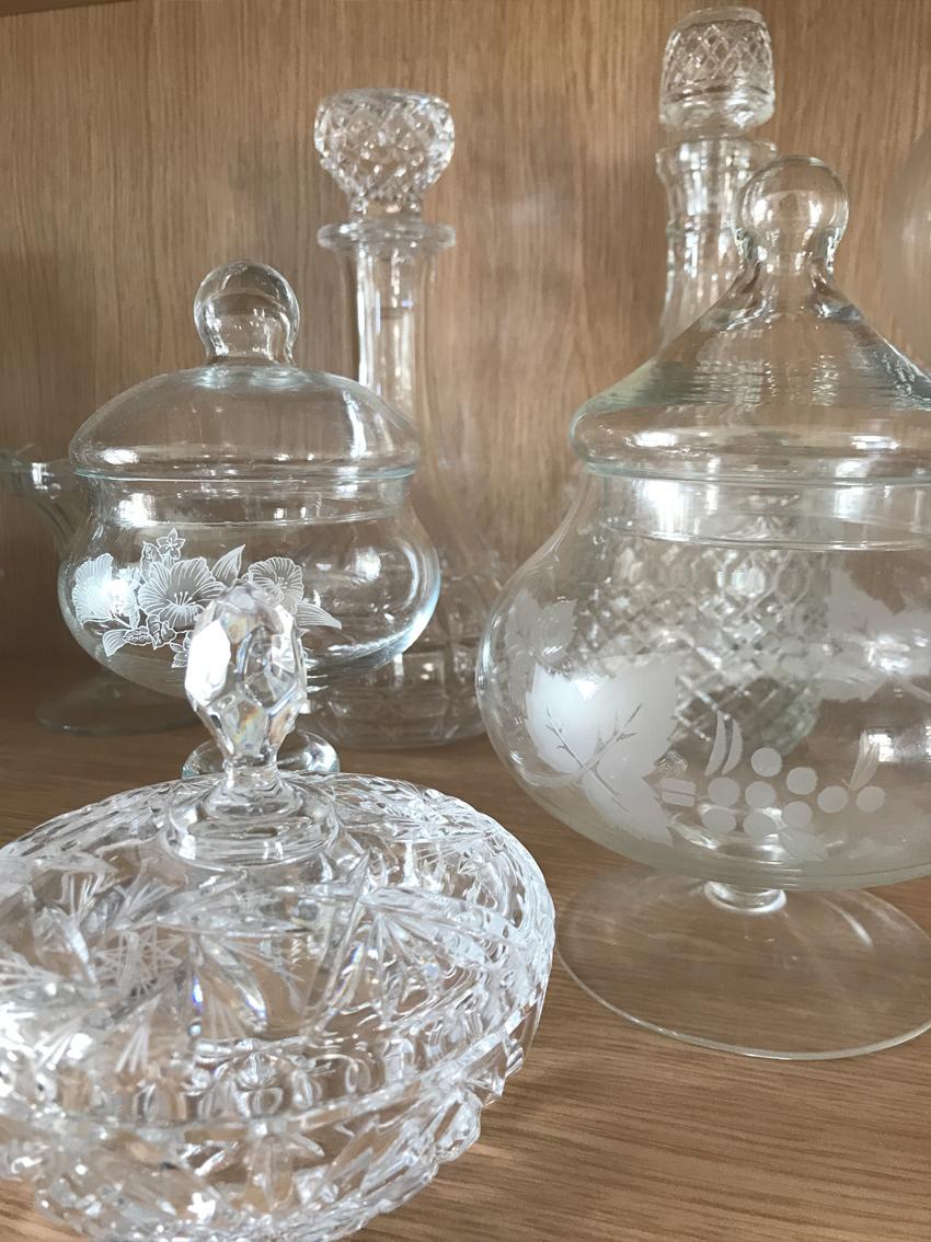 Sweet jars £1.50