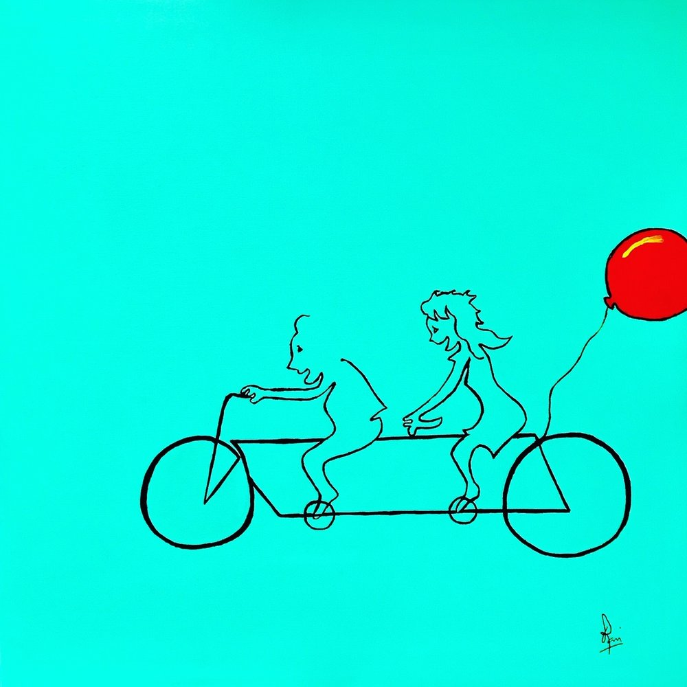 Of A Bicycle Made For Two