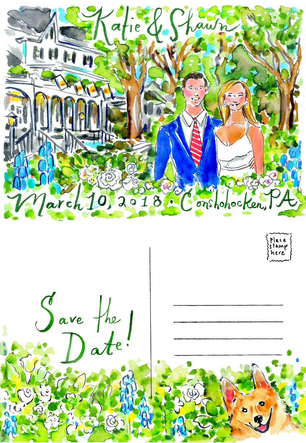 Katie & Shawn - Save the Date