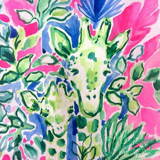 Lilly 5x5 - April the Giraffe