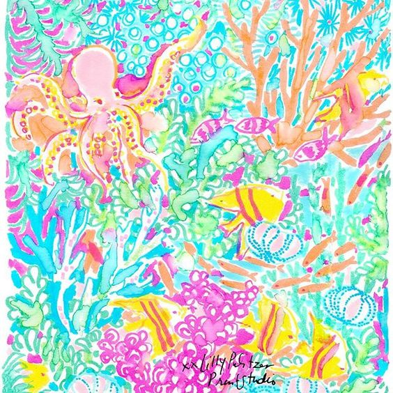Lilly 5x5 - Bubbly Sea