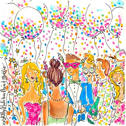 Lilly 5x5 - Happy New Year!