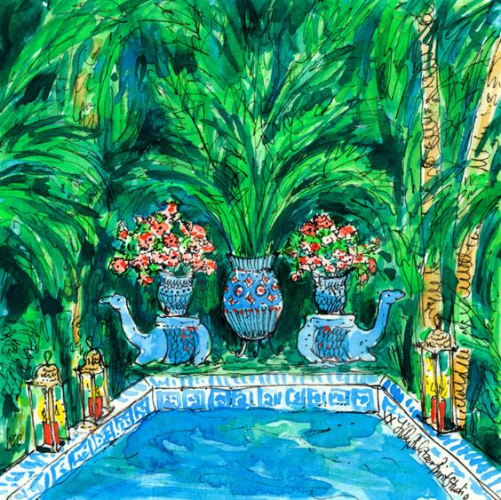 Lilly 5x5 - Hidden pool