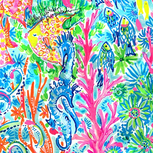 Lilly 5x5 - Fish Party