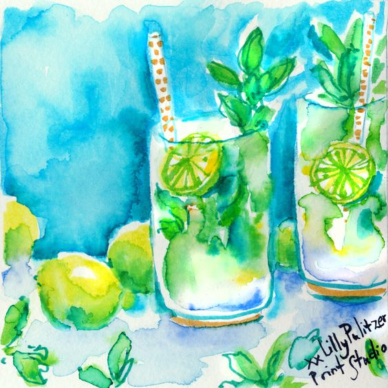 Lilly 5x5 - Mojitos