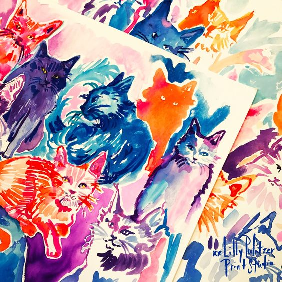 Lilly 5x5 - Halloween Cats