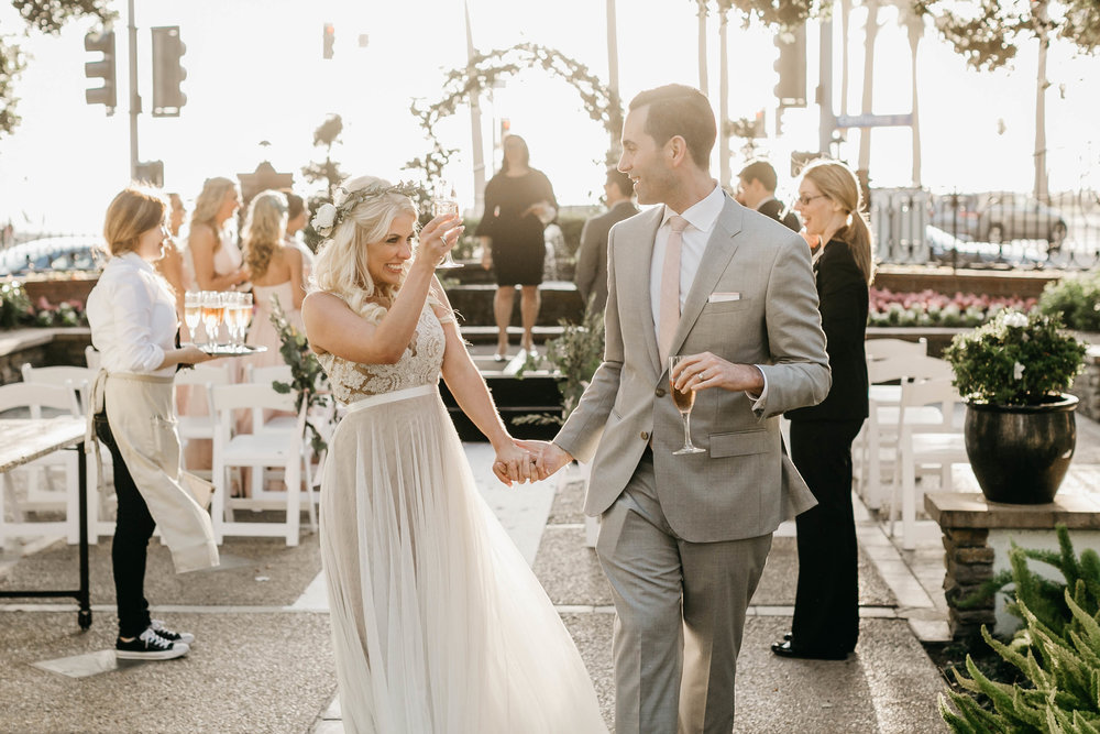 KATE AND NED / FAIRMONT MIRAMAR HOTEL, SANTA MONICA, CALIFORNIA WEDDING