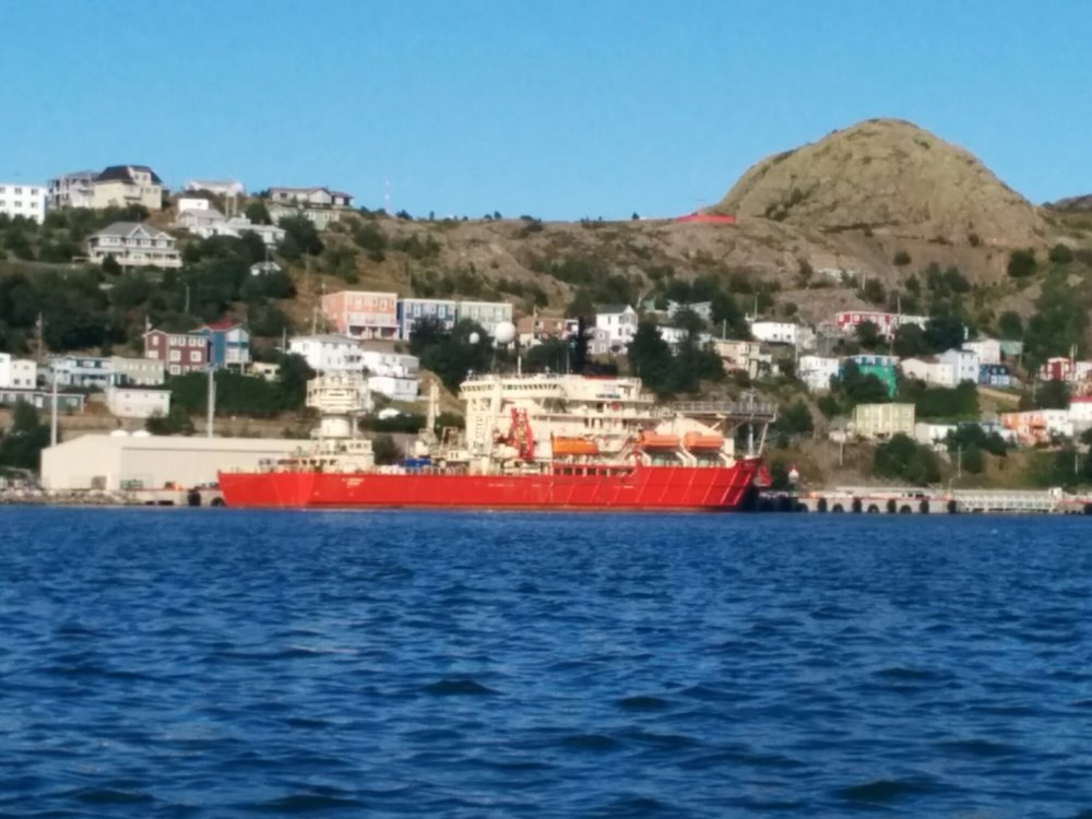 The Wellservicer in St. John's, September 2014. Photo by Heather Elliott.