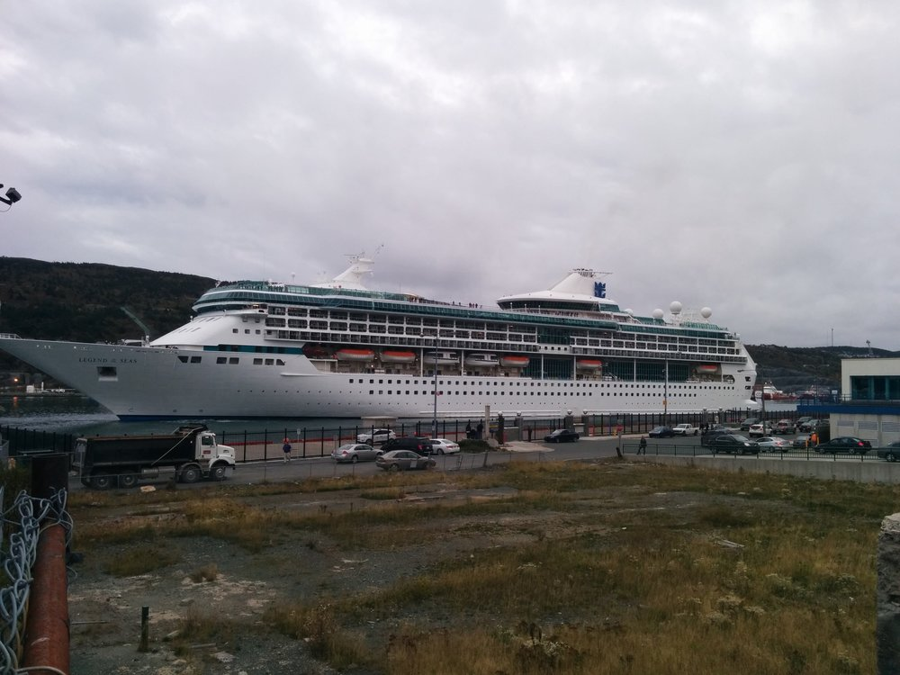 M/S  Legend of the Seas  in St. John's. Photo by Heather Elliott.