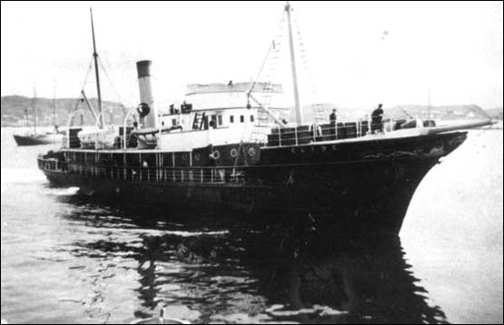 The SS  Clyde . Photo from Captain Harry Stone Collection at Memorial University PF-284.250.