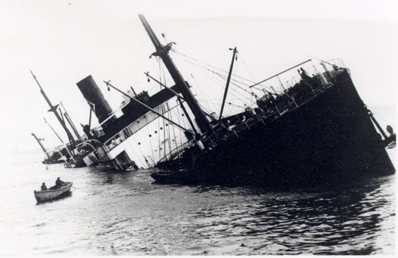 SS  Marsland . Photo from Capt. Harry Stone Collection of the Marine History Archives, Memorial University.