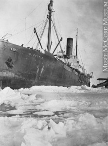 SS  Nascopie . Image from the McCord Museum.