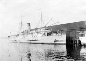 The SS  Princess May . Image from the Vancouver Archives.