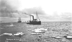 The sea tug Richard Holyoke. Image from University of Washington digital archives.