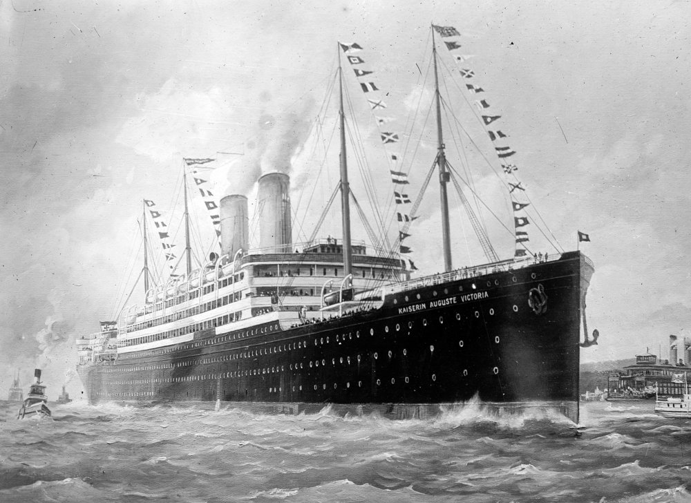 SS  Kaiserin Auguste Victoria , later the RMS  Empress of Scotland