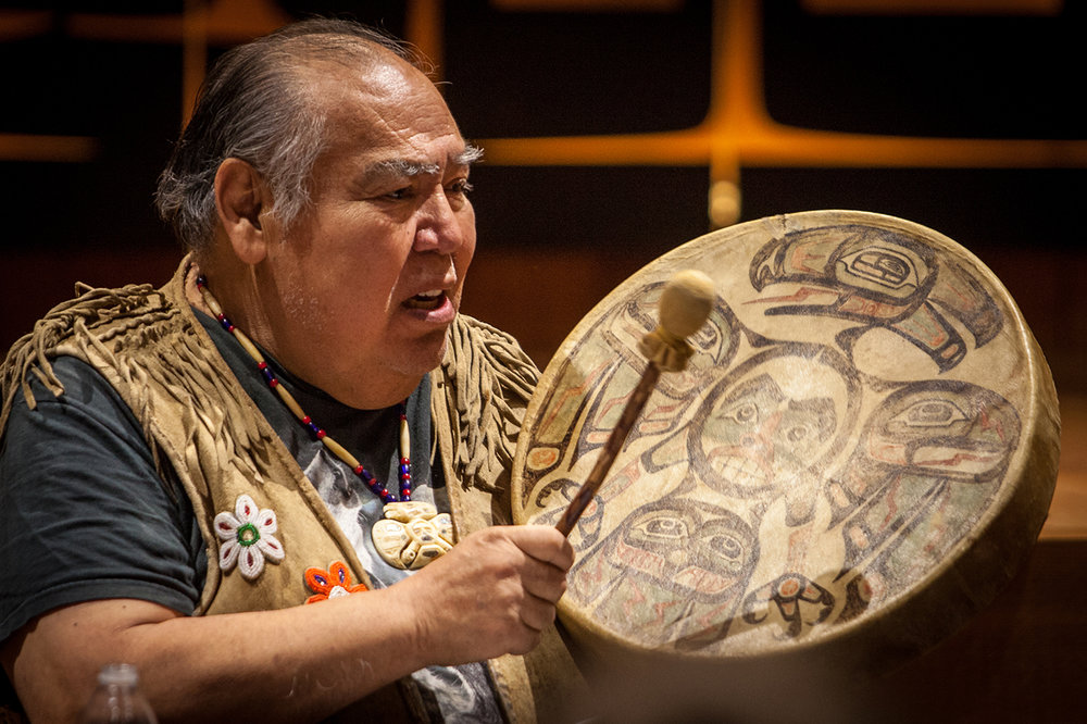 David Katzeek  (photo credit Sealaska Heritage)