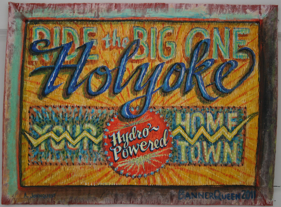 Ride the Big One, Holyoke, It's Hydro Powered