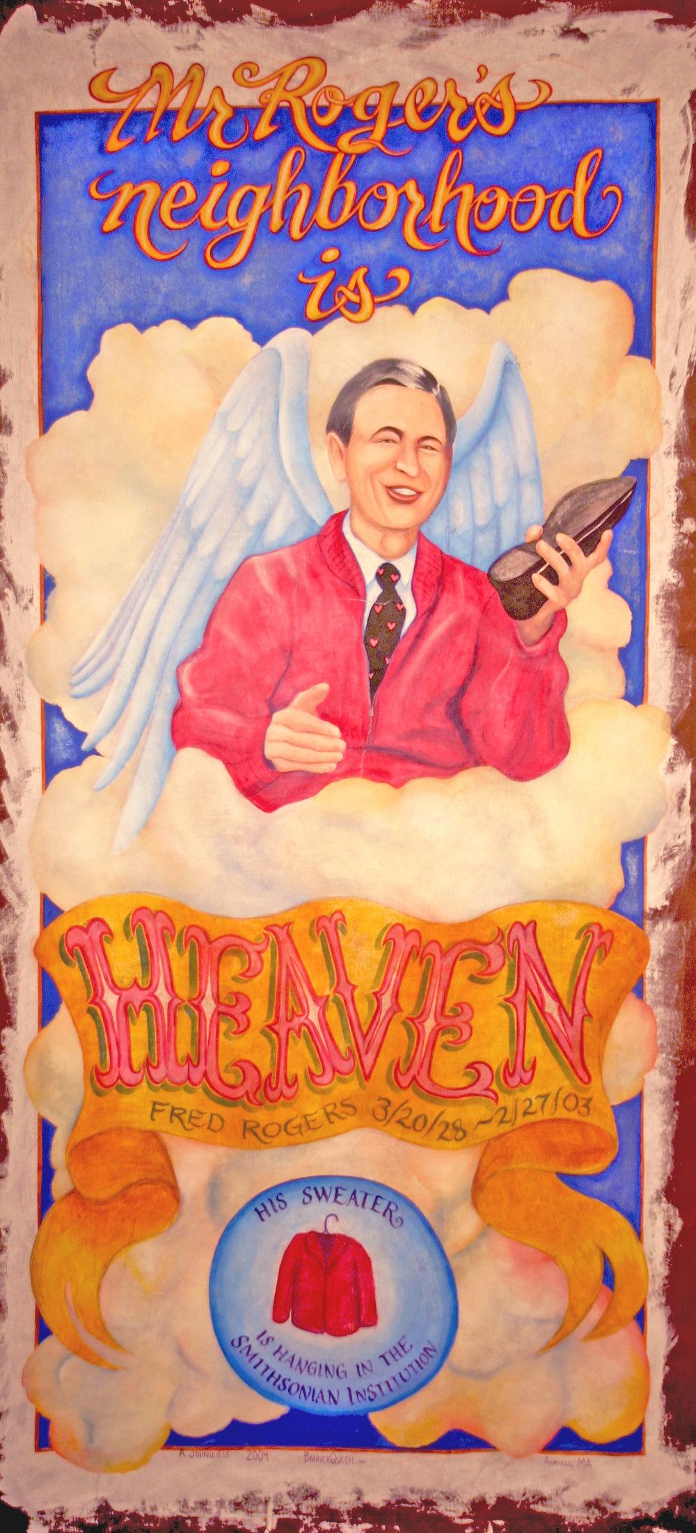 Mr. Roger's Neighborhood is Heaven