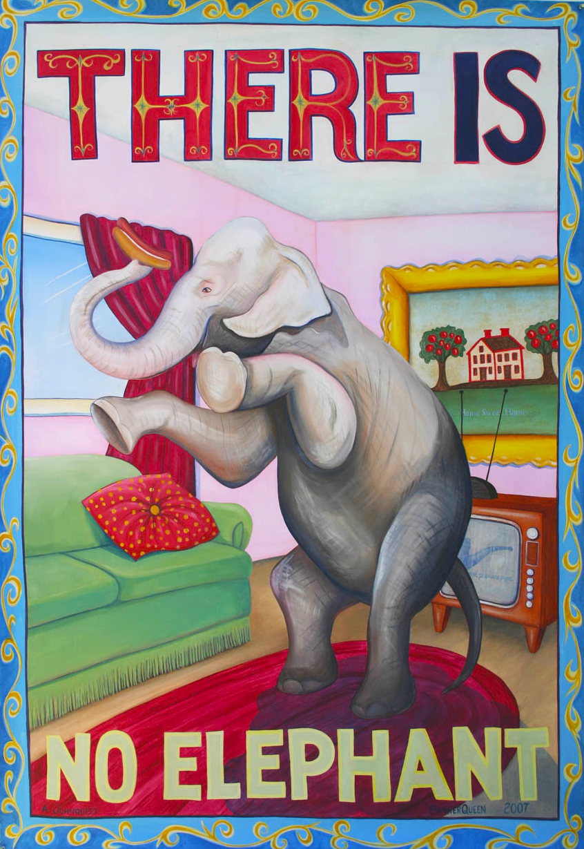 There Is No Elephant